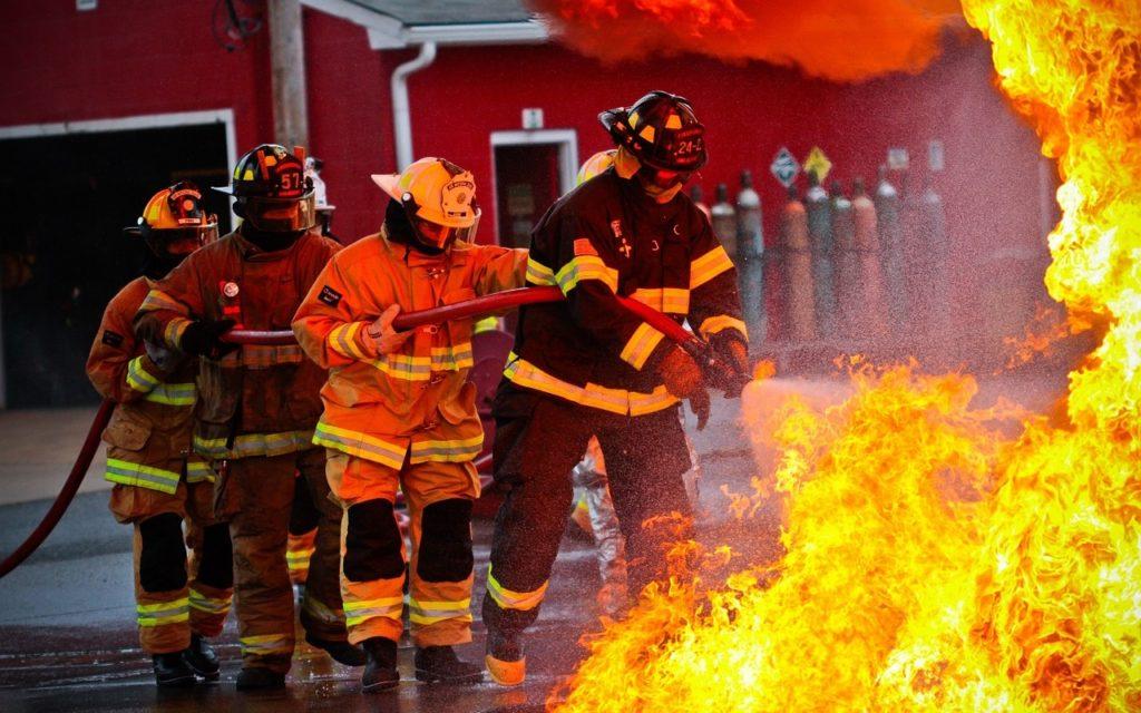 Feuerwehr danken